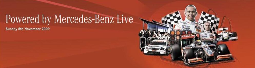 Mercedes-Benz World F1 Event